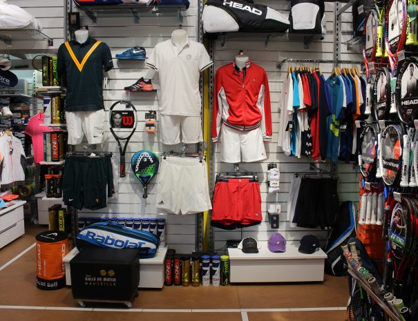 Photo 8 La boutique tout tennis